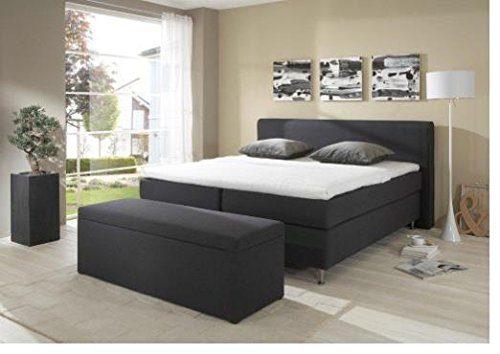 Breckle Boxspringbett 200 x 200 cm Cozy Box Split Hollanda 1000 TFK Topper Gel Premium Standard