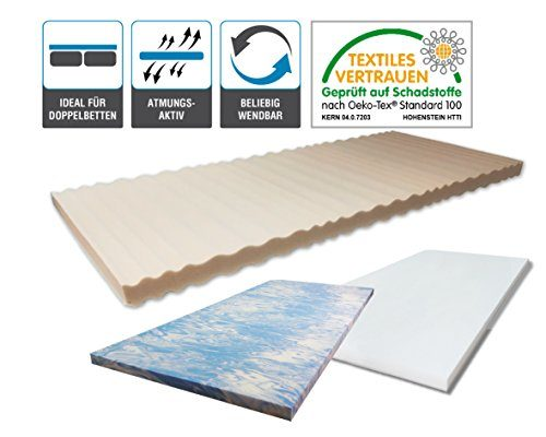 ARBD Kaltschaumkern für Topper - 5cm - XL 8cm - Wave XL 8cm - Rave XXL 10cm - Duo XXL 10cm