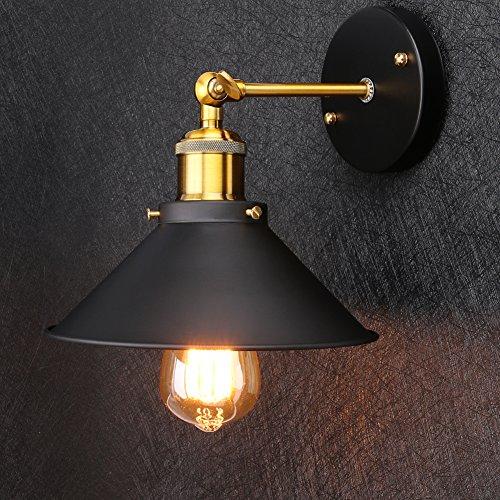 Linkax Vintage Wandleuchte Wandlampe Industrie Wand Lampen