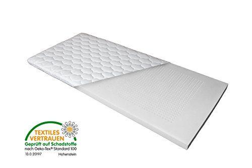 Luxus 7-Zonen Viscoschaum-Topper 90x200 cm 180x200 cm mit Memoryschaum, Matratzenauflage mit Klimalochbohrungen und ergonomischen Liegezonen für höchsten Schlafkomfort von Betten Jumbo