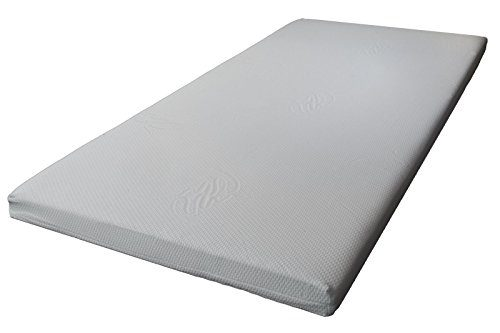 Matratzen Topper Classic Matratzenauflage Komfortschaum mit Bezug Höhe 5 cm Härte 2