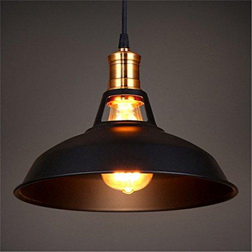 Maxmer Industrielle Retro PendelleuchteLED Kronleuchter Vintage Loft Hängelampe E27 Leuchtmittel für Küche, Wohnzimmer, Schlafzimmer Restaurant,Barusw (keine Lichtquelle enthalten)