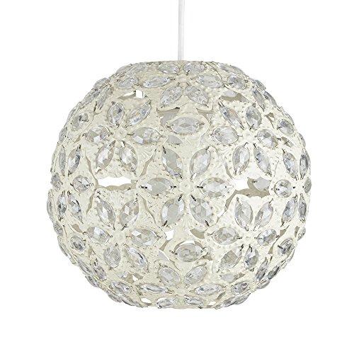 Modernes Marokkanischer Stil Shabby Chic Metall Jeweled Ball Deckenleuchte Anhänger Licht Schatten