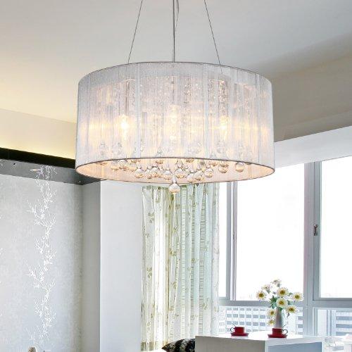 Lightinthebox Kristall Pendelleuchten Raumbeleuchtung Trommel Modern für Wohnzimmer Schlafzimmer