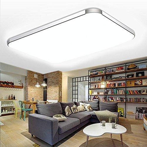 WYBAN Hohe Qualität Moderne Energiespar Panel LED Deckenleuchten perfekt für Wohnzimmer Schlafzimmer Gastzimmer Pendelleuchte Deckenbeleuchtung
