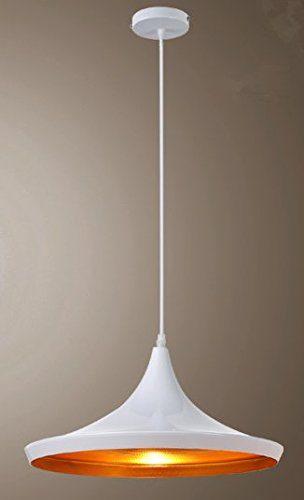 Wohnzimmer Schlafzimmer LED Hängeleuchte Pendelleuchte Lampenschirm Modern Vintage Metall Höhenverstellbar Hängeleuchte