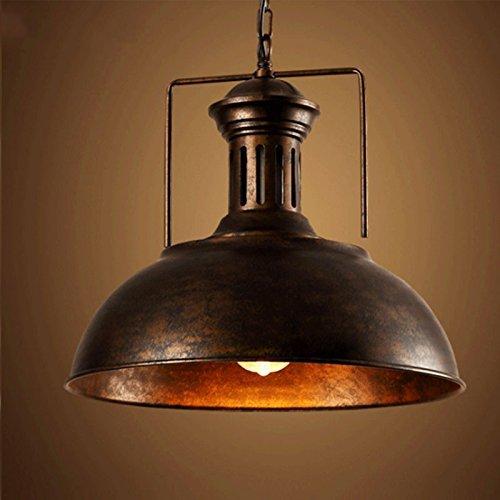 """BAYCHEER 16"""" Pendelleuchte Industrieleuchte mit rustikalem Dome / Schüsselanordnung in Kupfer (Kupfer)"""