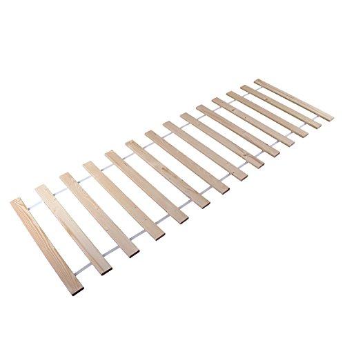 Rolllattenrost Rollrost Lattenrost Bettrost Rollroste Holzlatten Latten Rost 160x200 cm 12 Stück