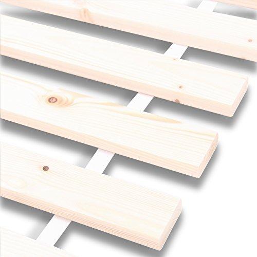 Rollrost Rolllattenrost Lattenrost Bettrost 20 Leisten Latten Rost 70x200 80x200 90x200 100x200 120x200cm