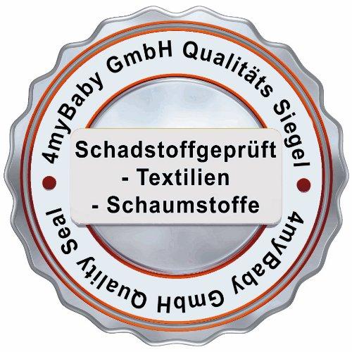 Best For Kids COMFORT MATRATZE MAXI 100 % Polycotton mit TÜV ZERTIFIKAT 70 x 140 x 10 cm Matratze mit sehr guten Gesundheits- und Umwelteigenschaften