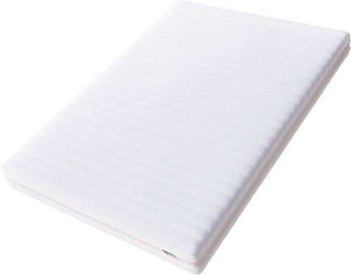 Hilding Sweden Essentials Memoryschaum Matratze in Weiß / Mittelfeste Matratze aus thermoelastischem Visko-Komfortschaum für alle Schlaftypen (H2-H3) / 200 x 80 cm