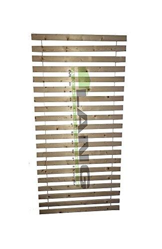 LANG Rollrost Lattenrost Rolllattenrost 90x200cm bis 200 kg belastbar naturbelassen direkt vom Schreiner