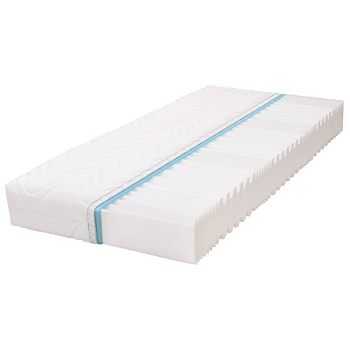 Calma Comfort Plus 7 Zonen 25cm H2 Premium Kaltschaum Matratze Komfortschaum (180 x 200 cm)