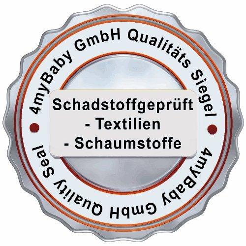 Best For Kids COMFORT MATRATZE MAXI 100 % Polycotton mit TÜV ZERTIFIKAT 60 x 120 x 10 cm Matratze mit sehr guten Gesundheits- und Umwelteigenschaften