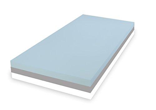 Dibapur ® 3 System: ca. 25 cm Höhe Matratze Orthopädische Kaltschaummatratze - SOFT MITTEL FEST - (100x200) x Kernhöhe ca. 24 cm , mit Standard Bezug - Made in Germany (Einkaufspreise bis 100 Stk. Verkauft sind!)