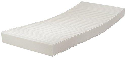 Traumnacht T9 - Orthopädische 9-Zonen Komfortschaummatratze Härtegrad 3 (H3), 90 x 190 cm, weiß