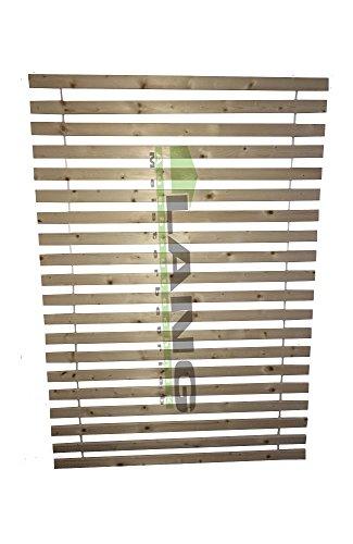 LANG Rollrost Lattenrost 120x200cm bis 200 kg belastbar Extra Stark naturbelassen direkt vom Schreiner
