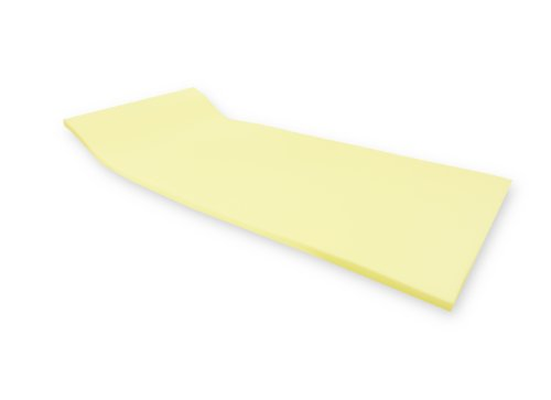 Dibapur ®: VISCO SOFT Viscoelastische Matratzenauflage - (90_x_200_cm) x Kern 4 cm - Visco Auflage - Topper Memory (Ohne Bezug)