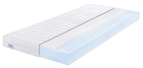Traumnacht  Easy Comfort Rollmatratze Härtegrad 2 (H2), 100 x 200 cm, weiß