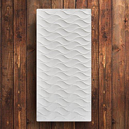 OrthoMatra Wave 9.0 Kaltschaummatratze mit neuestem neun Zonen Wellenschnitt - Grösse 70x200