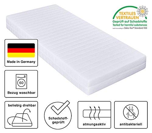 Kaltschaummatratze Härtegrad H2 H3 7 Zonen Matratze öko Tex Zertifiziert Bezug Waschbar Rollmatratze