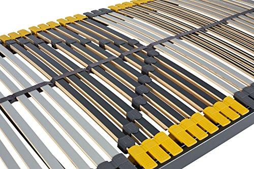 Hilding Sweden Lattenrost, 90 x 200 cm, mit 44 Latten aus Holz (nicht verstellbar), Fertig montiert, Geeignet für alle Matratzen, Härtegrad 9-fach justierbar
