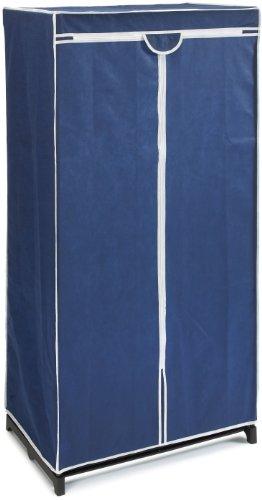 Wenko 4381630100 Kleiderschrank Air, 100% Polypropylen, 75 x 150 x 50 cm, Blau