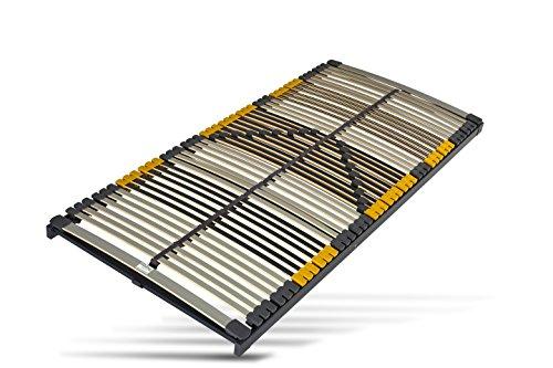 Hilding Sweden Lattenrost, 140 x 200 cm, mit 44 Latten aus Holz (nicht verstellbar), Fertig montiert, Geeignet für alle Matratzen, Härtegrad 9-fach justierbar