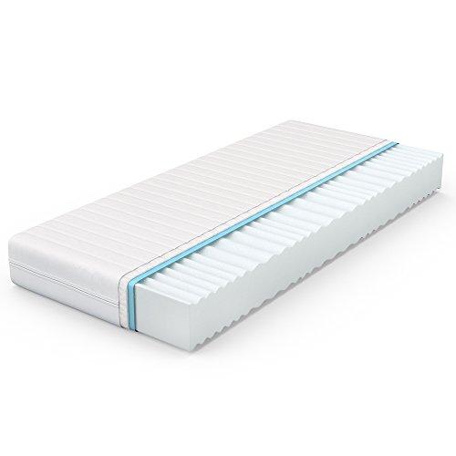 VitaliSpa® Calma Comfort Plus 7 Zonen Premium Kaltschaum Matratze (140 x 200 cm, H2 - 7 Zonen)