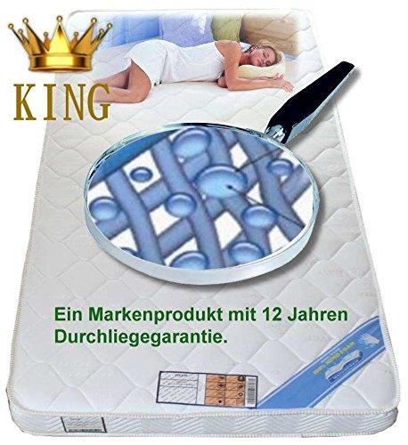 Wolke7 Bayscent KING Gelschaum Matratze Gelmatratze 180x210