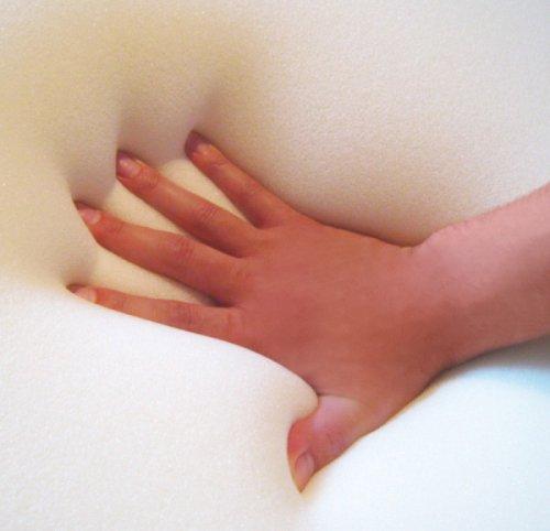 Gel / Gelschaum Matratze Gelmatratze 80 / 90 / 100 x 200 cm Höhe 20 cm, 8 cm Gelschaum Raumgewicht RG 85 soft / weich = Schlafen wie auf dem Wasserbett ohne seine Nachteile