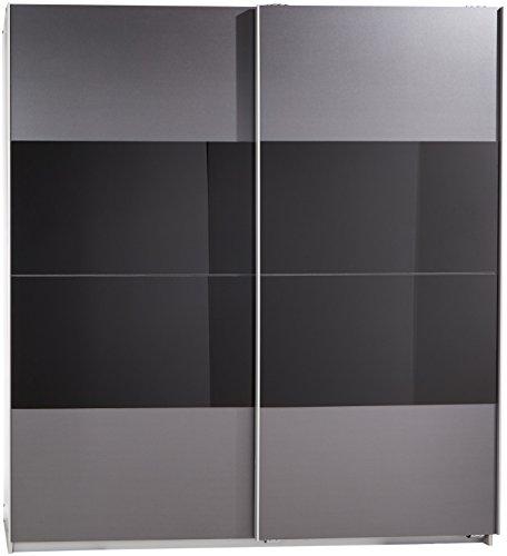 Wimex Kleiderschrank/ Schwebetürenschrank Enter, (B/H/T) 180 x 198 x 64 cm, Schwarz