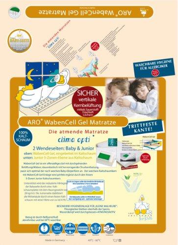 ARO Artländer 9213310 Waben Cell-Gel Matratze (medicott Bezug) 60 x 120 cm