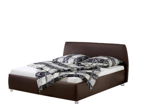 Maintal Betten 232647-4716 Polsterbett Minu 140 x 200 cm, Kunstleder