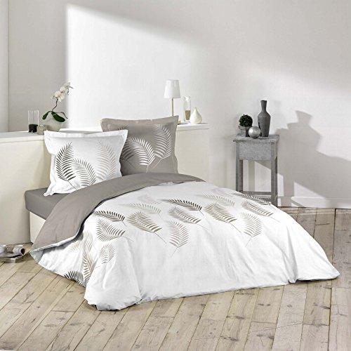 Douceur d'Intérieur Bettwäsche Bettbezug, Baumwolle, mehrfarbig, 220x 240cm