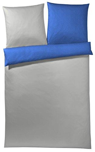 JOOP! Bettwäsche Solid 4057 | 2 blau | 135 x 200 cm