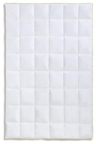 Frau Holle Daunen-Bettdecke für das ganze Jahr aus 100% Gänsedaunen, 135 x 200 cm, 430 g - 2215-11