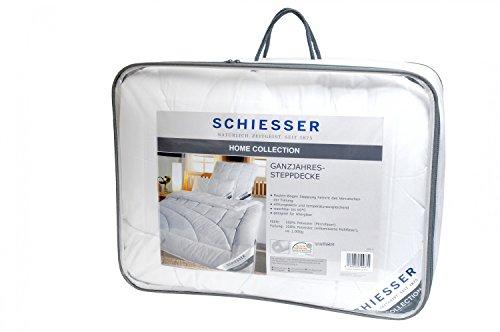 Schiesser ganzjahres Steppbett / Bettdecke / 135 cm x 200 cm / Allergiker geeignet / verschiedene Größen erhältlich