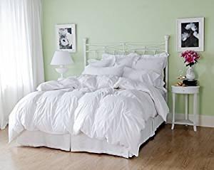 Welt-der-Träume Winter Angebot!! Warme kuschlige Bettdecke 155x220 cm Daunen Decke Kassetten Bett 100% Natur!