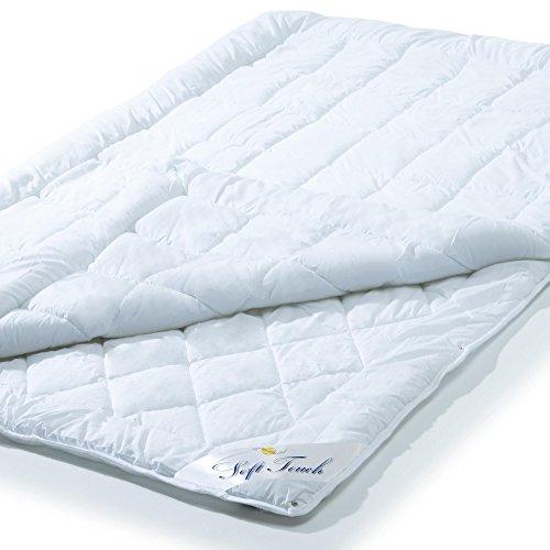 aqua-textil 4 Jahreszeiten Bettdecke 200x200 cm Steppdecke Atmungsaktiv Kochfest, Ganzjahres Steppbett für Winter und Sommer Soft Touch 0010579