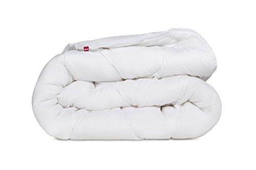 Abeil 15000000538Douceur Infinie Steppbett, warm, Polyester, Weiß, weiß, 240 x 260 cm