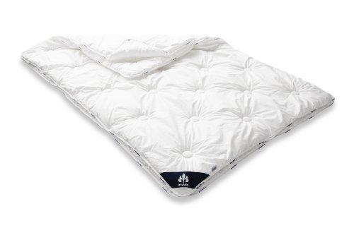 Badenia 03 649 790 140 Bettcomfort 4-Jahreszeiten-Steppbett Irisette Atmosphere, 135 x 200 cm, weiß
