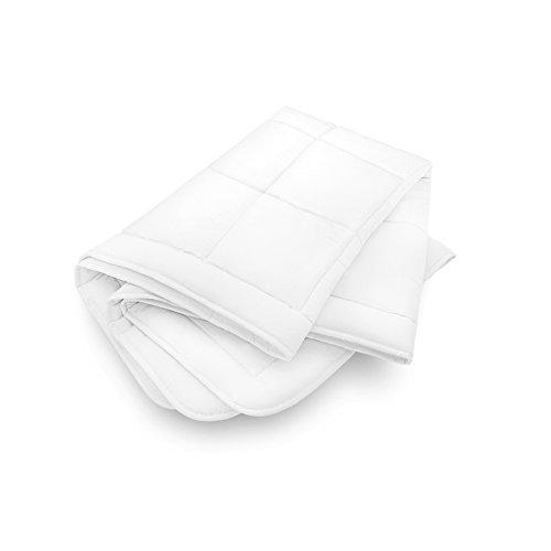 Das Traumbett Bettdecke Tencel 135 x 200 cm - kuschelig weiche Premium Ganzjahresbettdecke Übergangsbettdecke aus Lyocell Baumwolle Polyester gesteppt vegan für Allergiker