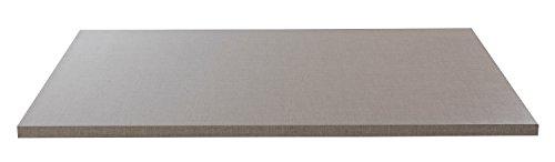 Einlegeboden Regalboden Fachbrett ZOE 1 | Hellgrau | 66x48 cm