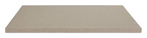 Einlegeboden Regalboden Fachbrett ZOE 2 | Hellgrau | 88x48 cm