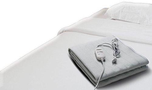 Elektrische Wärmeunterbett Wärmematte Heizmatte Bettdecke Heizdecke Polyester 150x80 cm
