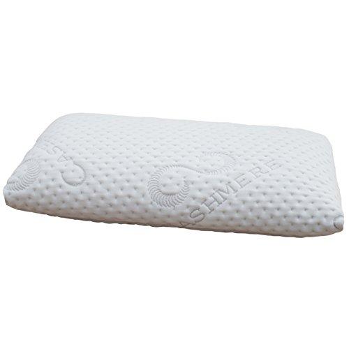 FMP Matratzenmanufaktur Orthopädisches Nackenstützkissen viscoelastisches Kissen, Visco Kopfkissen, Kissen, Nackenkissen 7 cm hoch, weiß