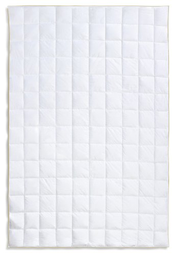 Frau Holle Daunen-Bettdecke für den Sommer aus 100% Gänsedaunen, 155 x 220 cm, 250 g - 2212-20