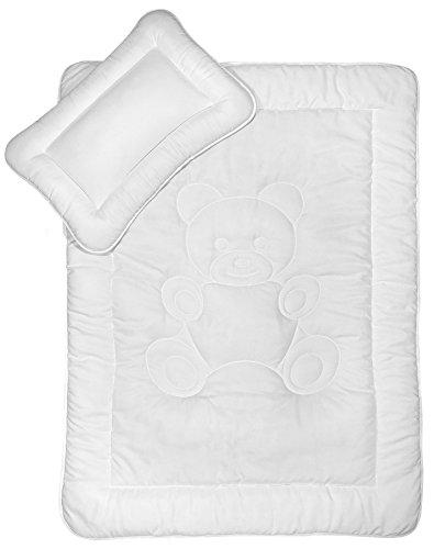 Kinder Bettdecken Set 40x60 cm + 100x135 cm nach Öko-Tex Standard 100 zertifiziert