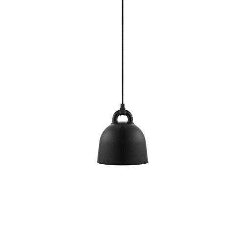 Normann Copenhagen - Bell Hängeleuchte - schwarz - Ø 22 cm - Andreas Lund & Jacob Rudbeck - Design - Deckenleuchte - Pendelleuchte - Wohnzimmerleuchte